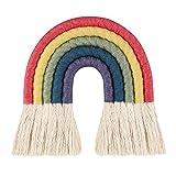 Rainbow Décor,Rainbow Hanging,Rainbow Tapiz Macramé Decoración...