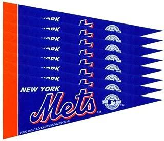 Rico New York NY Mets MLB Mini Pennant Set (8)