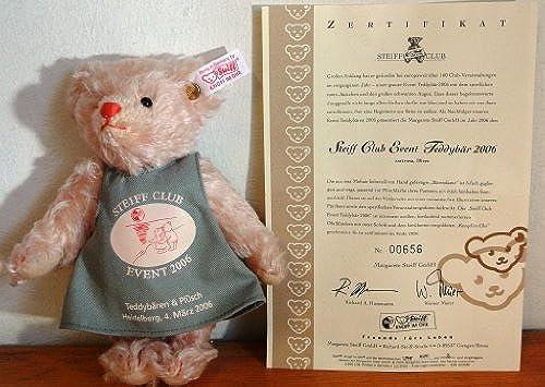 420580 - Steiff Club Event-Teddyb Rosa 2006