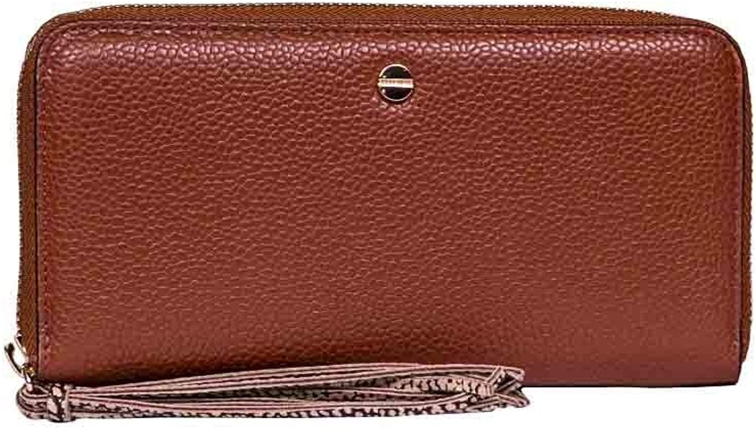 Borbonese Women's 950197F96301 Brown Leather Wallet