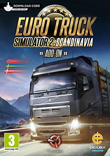 Euro Truck Simulator 2 (Scandinavia Add-on) PC (Code in a Box) (Dutch/French Inlay)