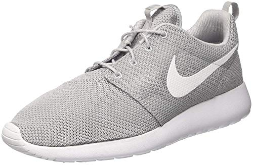 Nike Roshe Run 511881 Herren Laufschuhe Training, Grau (023 WOLF GREY/WHITE), 38.5 EU