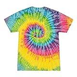 Colortone Tie Dye T-Shirt XL Saturn