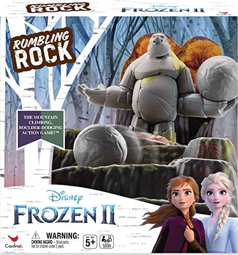 Spin Master Games Frozen 2 - Rumbling Rock 3D-Brettspiel