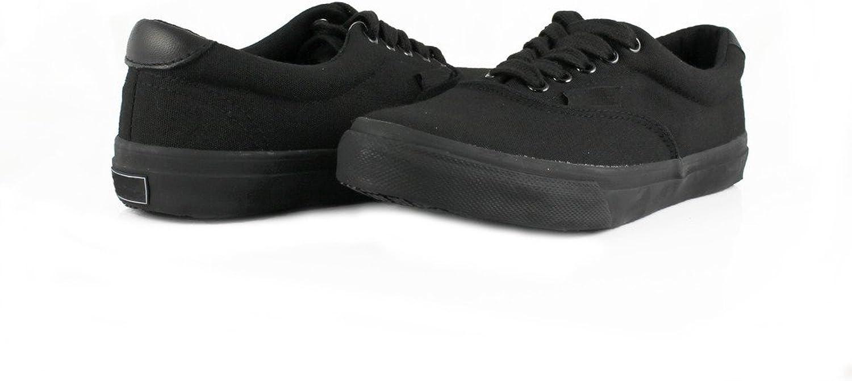 Townforst Cheryl Slip Resistant Black Sunbrella Water Resistant Non Slip Waitress shoes