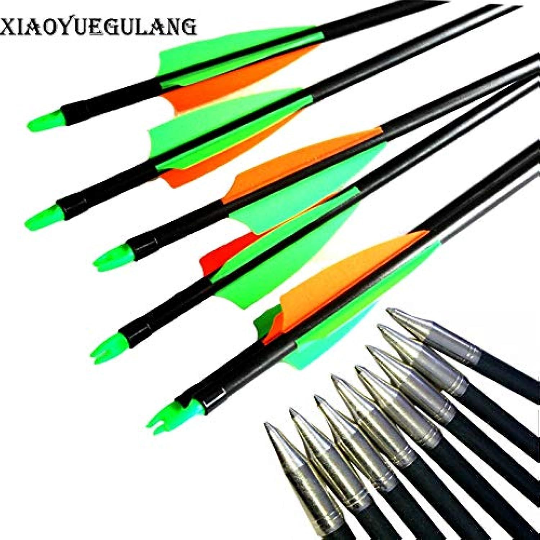 31.5 Inch Arrow 3  Vane Fibergla Arrow Archery Target Practice Arrow or Youth Bow Arrow for Recurve & Compound Bow   24Pack