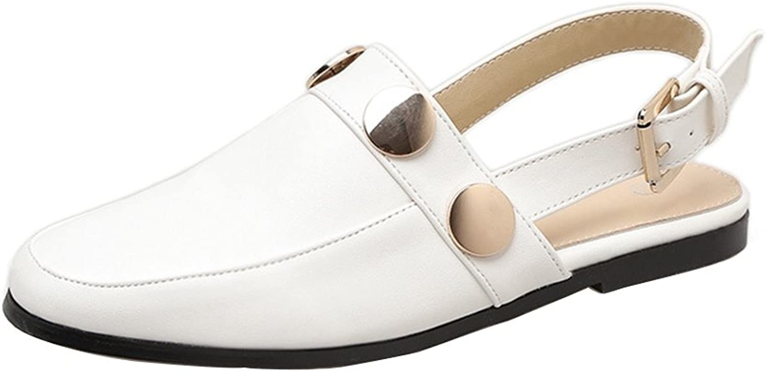 Kyle Walsh Pa Women's Spring Retro Buckle Slippers Mules