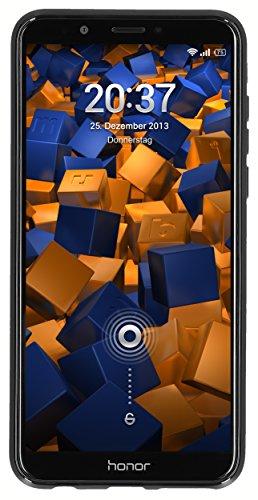 mumbi Hülle kompatibel mit Honor 7C Handy Case Handyhülle, schwarz - 4