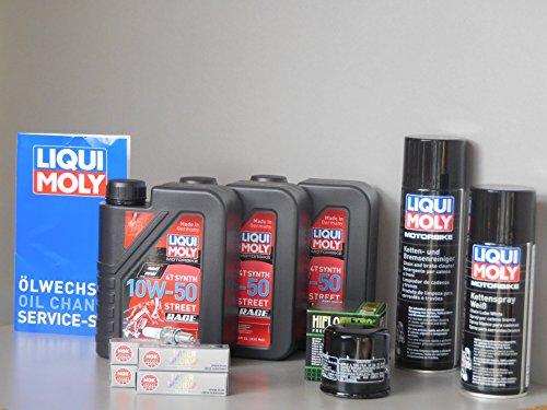 Juego de mantenimiento para Honda CBR 600 RR, filtro de aceite, bujía, servicio de inspección y cadena