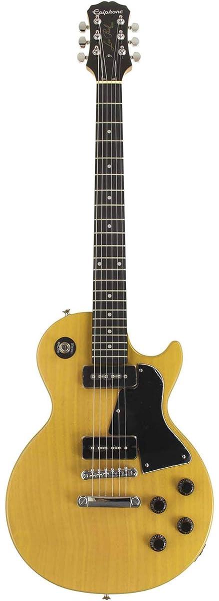 パテ聖人三角形Epiphone エピフォン エレキギター Limited Edition Les Paul Special Single Cutaway [Bolt-on] (TV Yellow)