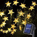 18M Cadena de Luces LED Estrellas, OxyLED 110LED Luces de Estrellas Cadena de Luces Luces LED de Navidad Luces de Cadena...