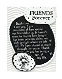 Blue Mountain Arts Miniature Easel Print with Magnet 'Friends Forever' 4.9 x 3.6 in., Birthday, Christmas, or 'Thinking of You' Friendship Gift, by Marci and the Children of the Inner Light