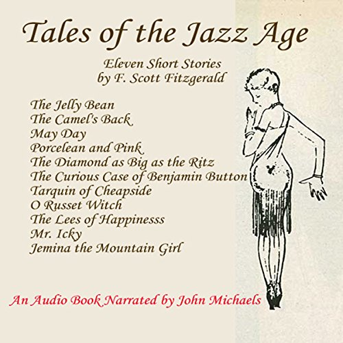 Tales of the Jazz Age audiobook cover art