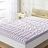 Best Price Mattress 3 Inch 5-Zone Memory Foam Topper, Mattress Pad with Soothing Lavender Infusion, CertiPUR-US Certified, Queen