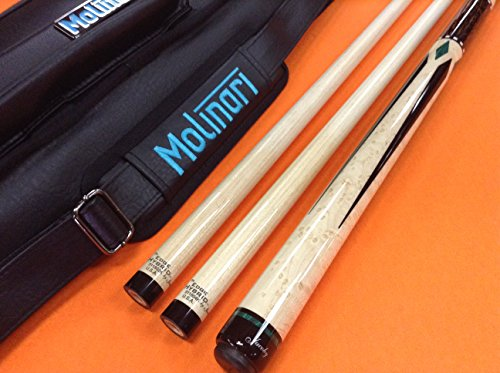 Purchase Jacoby Carom CUE 0817-21C Edge Hybrid SHAFTS & MOLINARI CASE (Special Edition)