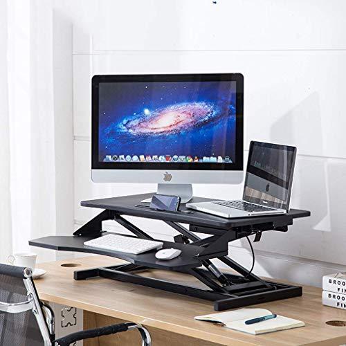 Eleva el ordenador de mesa de pie para ordenador portátil, portátil,...
