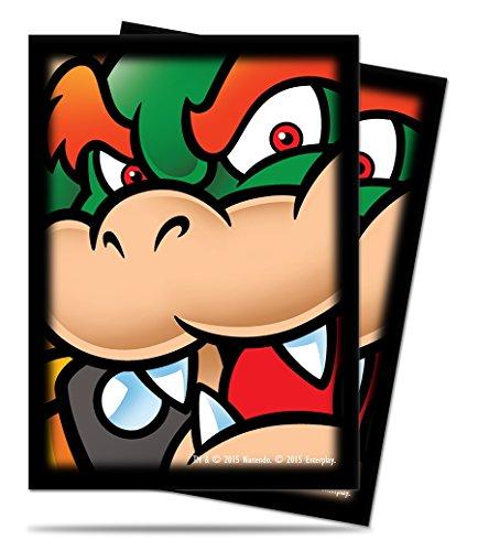 Ultra Pro Super Mario Bowser Protecteur de Deck avec 65 Manchons