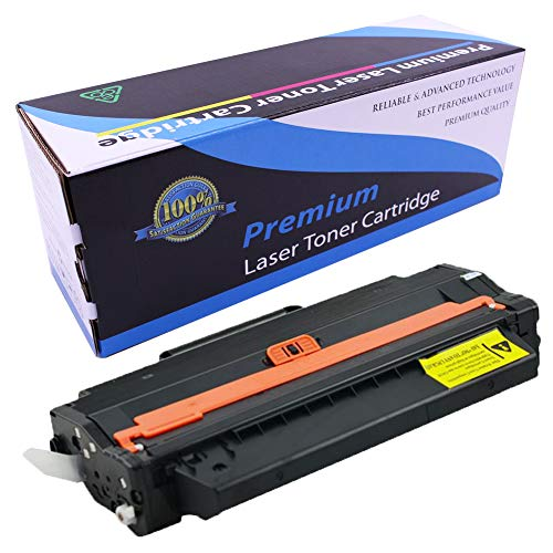 Toner Cartridge B1260 1260 Compatible with Dell B1260dn B1260 B1265dn B1265dnf B1265dfw, 1-Pack-Black, 2500 Pages