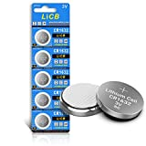 LiCB 5個入 CR1632 コイン形 リチウム電池 3V 1632 水銀ゼロシリーズ ボタン電池