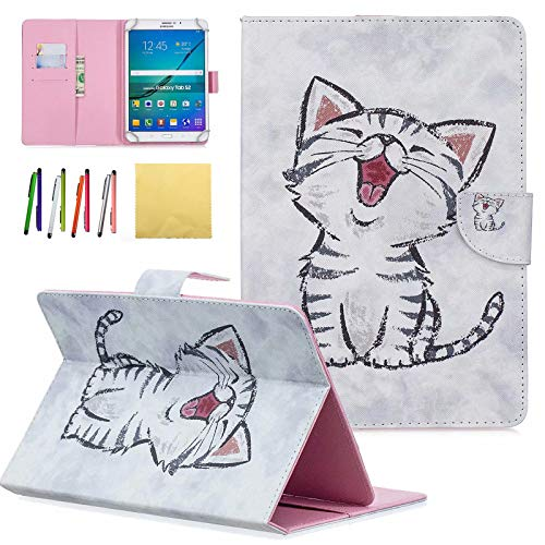 Universal 7.0 inch Case, Dteck PU Leather Stand Covers Case for Samsung Galaxy Tab A 7.0/ Tab E Lite 7.0/ Kindle Fire 7.0/ Lenovo Tab/Google Nexus/Asus Zenpad and All 6.5 to 7.5 inch Tablet