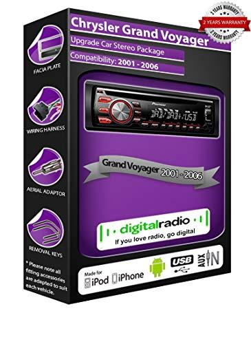 Pioneer DAB Radio CD estéreo DEH-4700DAB antena DAB libre (reacondicionado)