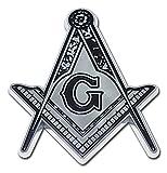 Elektroplate Mason (Detailed) Chrome Auto Emblem