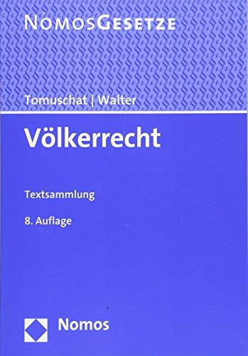 Völkerrecht: Textsammlung
