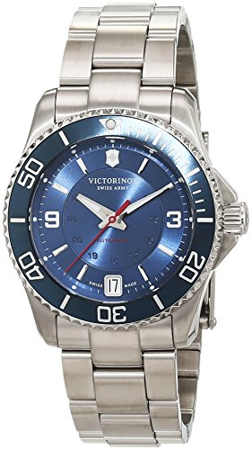Victorinox Swiss Army Maverick Mechanical Small Reloj Automático De Hombre Pulsera Analógico Automático Acero Inoxidable 241709