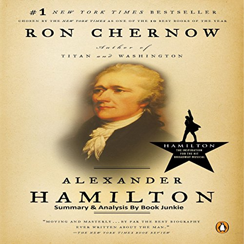 Summary: Alexander Hamilton audiobook cover art