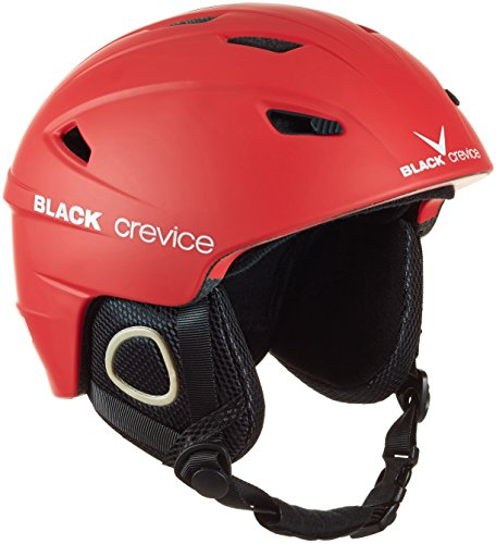Black Crevice Unisex-Erwachsene Skihelm Kitzbühel, rot, L