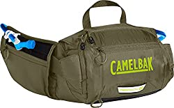 CamelBak Repack LR 4 50 oz Hydration Pack, Burnt Olive/Lime Punch