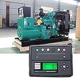 Nologo ZWJ-JJ Generador Set Controller, DSE7210 Deep Sea Pantalla LCD Grande Controlador de Panel de Control del módulo generador electrónico Display LCD