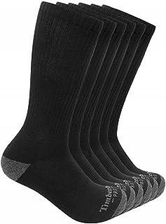 Timberland PRO Men's TB219983TA Performance Crew Length Socks 6-Pack