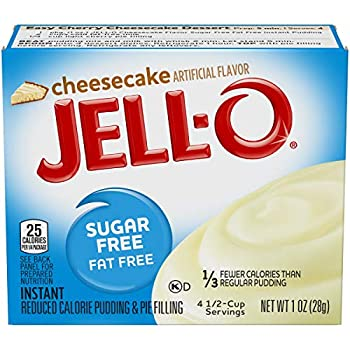 Jell-O Cheesecake Sugar Free Pudding & Pie Filling  3-Pack