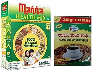 Manna Health Mix - 500gm, With Free Rajam Dry Sukku Kaapi Powder - 100g
