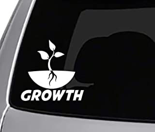 Growth Decal CAR Truck Window Sticker Mountains Shred