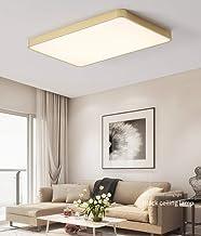 Modern Ultrathin Golden LED Ceiling Light Lamp 3 Color Temperatures in One (3000k / 4000k / 6500k) LED Flush Mount Ceiling...