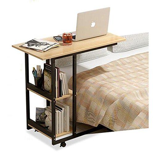 FEI Meubles modernes de bureau d'ordinateur portable de Tableau latéral de fin de lit de table pour le bureau à la maison 80 * 40 * 75CM