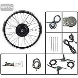 GJZhuan De Ruedas eléctrica conversión de la Bicicleta Kit 48V350W adelante Pata de Motor con LED900S Display eBike Kit de conversión de Bicicletas,27.5inch LED Sets