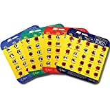 Regal Games Original License Plate Bingo Travel Set, Bingo Cards for Family Vacations, Car Rides, and Road Trips, 4 Pack