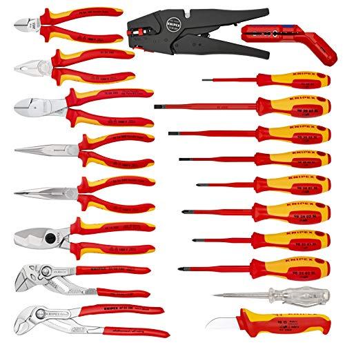 KNIPEX 00 21 20 Werkzeugkoffer Elektro 20-teilig - 2