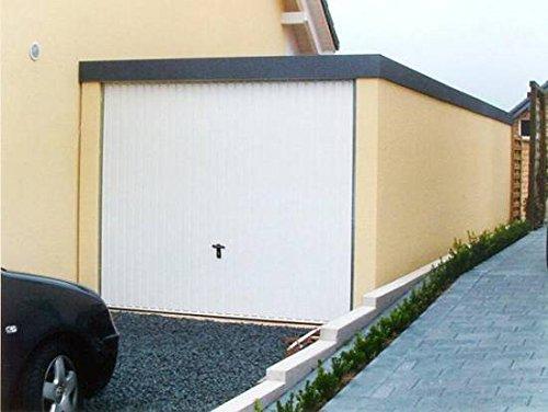 Fertiggarage Premium Einzelgarage 2,58 m x 8,94 m x 2,35m Glattwand verputzt