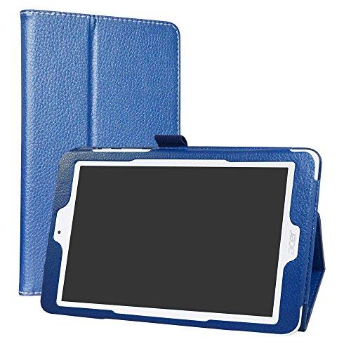 LiuShan Acer Iconia One 8 B1-850 hülle, Folding PU Leder Tasche Hülle Case mit Ständer für 8