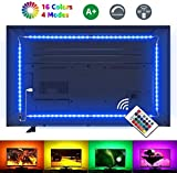 LE LED TV Hintergrundbeleuchtung, 2M RGB LED Fernseher Beleuchtung for 35~65 Zoll HDTV PC Monitor,...