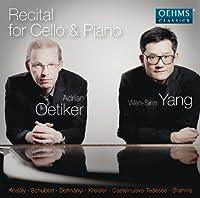 Recital for Cello & Piano