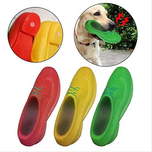 1111 Spielzeug Hund Espielzeug Saugnapf Lustige Pet Dog Toys Schuhe Stil Klingende Quietschende Silikon Welpen Kauen Quietschen Zähne Backenzähne