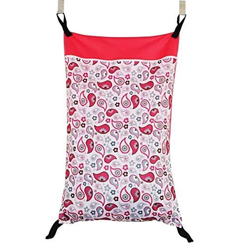 Übergroße Hanging Dry/Wet-Wannen-Beutel mit zwei Haken for Stoffwindeln wasserdichte Windel-Tasche mit zwei Reißverschlüssen Faltbare Wäschekorb, faltbare Wäschesack, fol (Color : XS79)