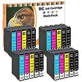 D&C 20x Cartuchos de Tinta Compatible para Epson 29 29XL Compatible con Epson Expression Home XP-235 XP-245 XP-247 XP-255 XP-257 XP-332 XP-335 XP-342 XP-345 XP-352 XP-355 XP-432 XP-435