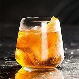 2 vasos de cóctel Sx330 ml, cristal transparente de alta calidad, ideales para refrescos, cervezas, cócteles, regalo novedoso para el hogar bar idea de regalo