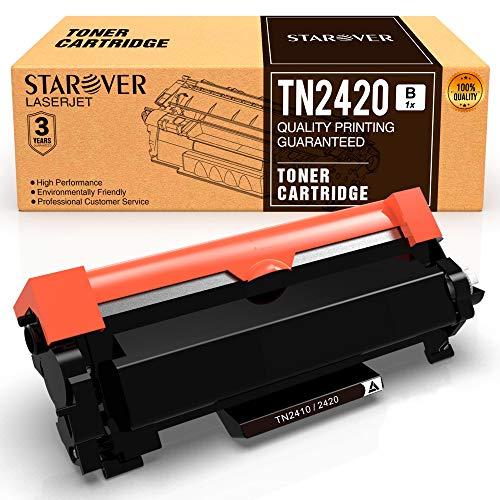 [Con Chip] STAROVER TN-2420 TN2420 TN2410 Cartuccia Toner Compatibile per Brother MFC-L2710DN MFC-L2710DW MFC-L2730DW MFC-L2750DW DCP-L2550DN DCP-L2530DW DCP-L2510D HL-L2375DW HL-L2370DN HL-L2350DW